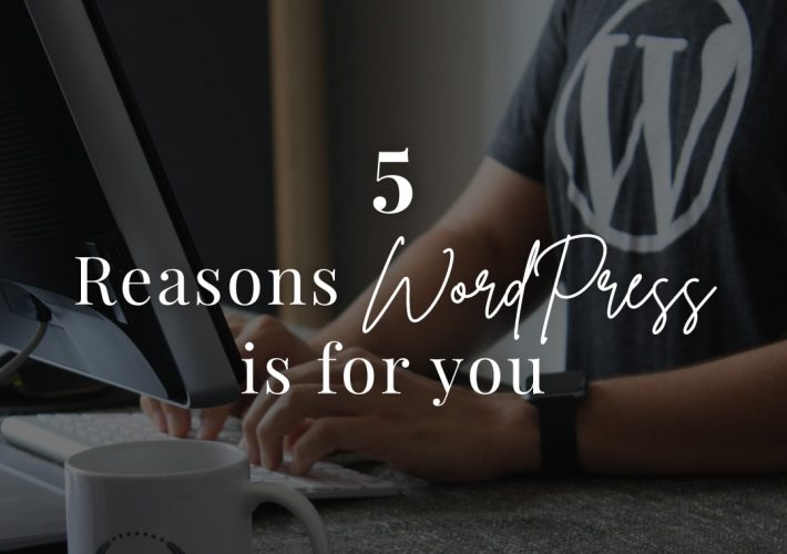 5 reasons wordpress is for you