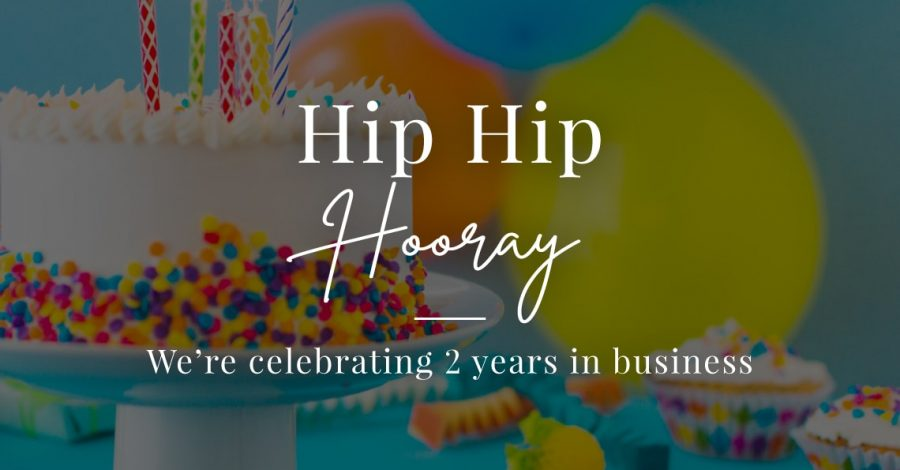celebrating 2 years in business