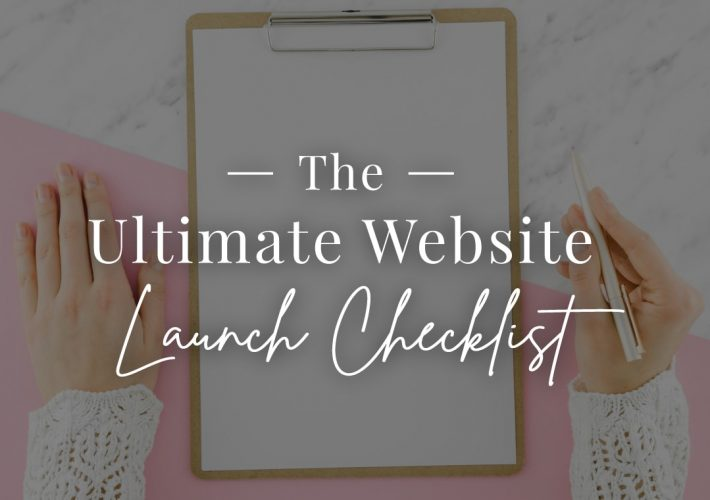 blog ultimate website launch checklist
