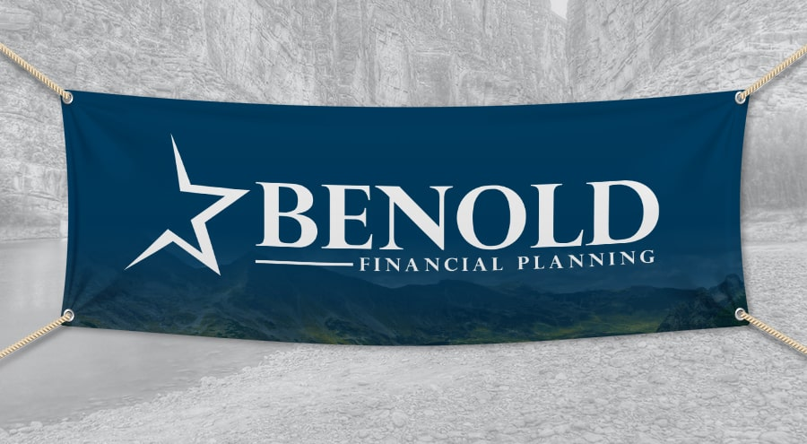 benold hanging banner sign
