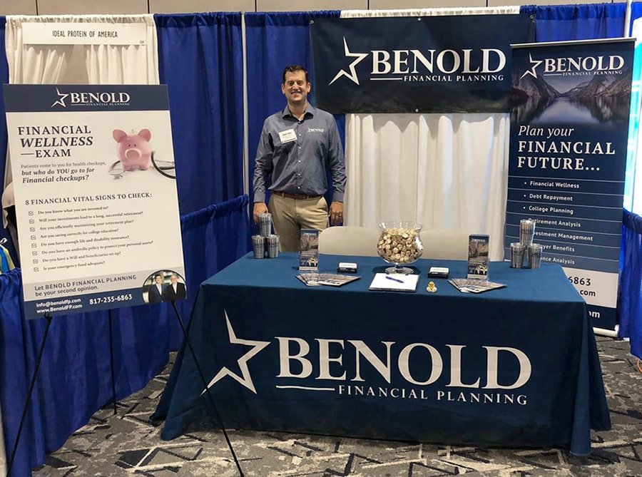 benold conference booth