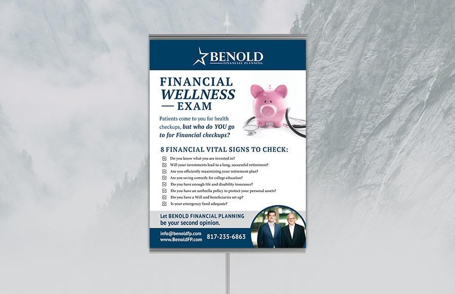 benold tradeshow poster design