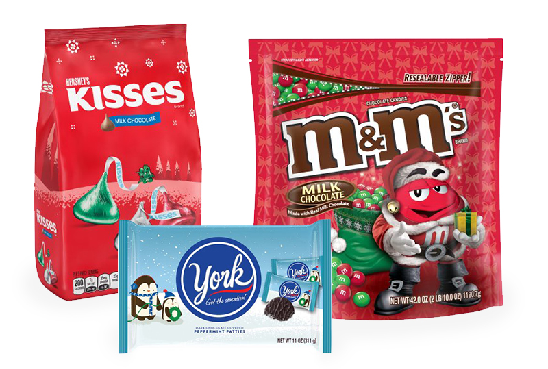 christmas candy packaging