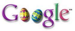 easter google logo