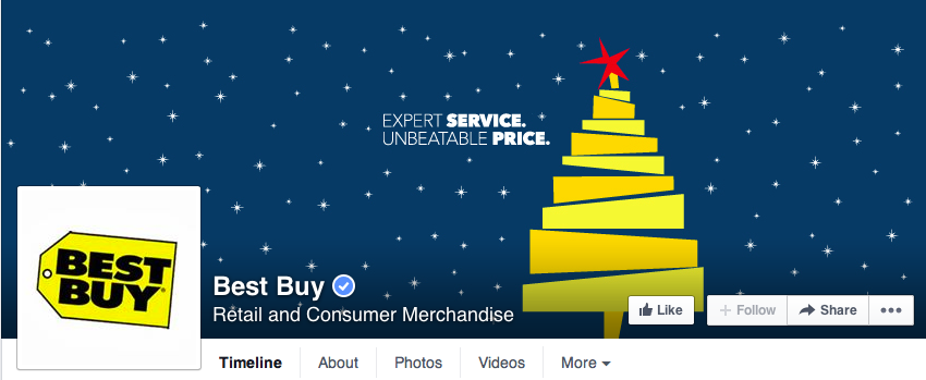 holiday facebook cover design