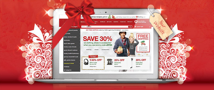 holiday website design