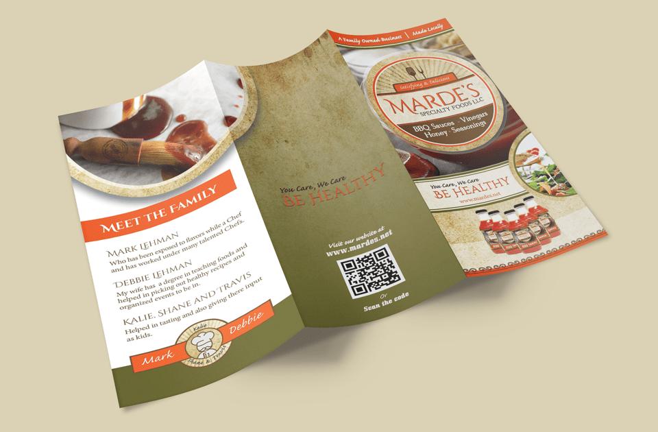 mardes brochure design min