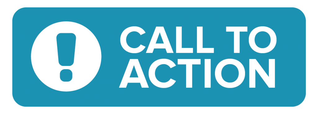 web call to action button