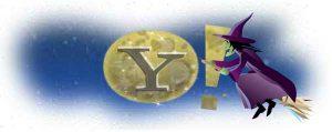 yahoo halloween logo design