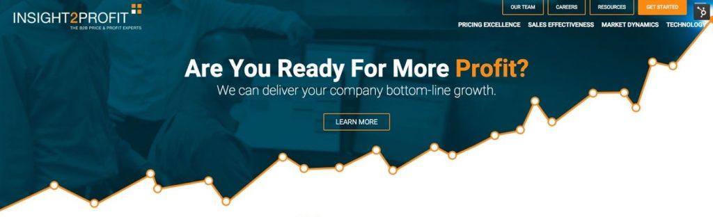 profit company's hero image