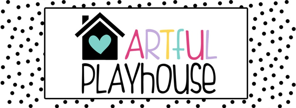 artful playhouse logo and branding