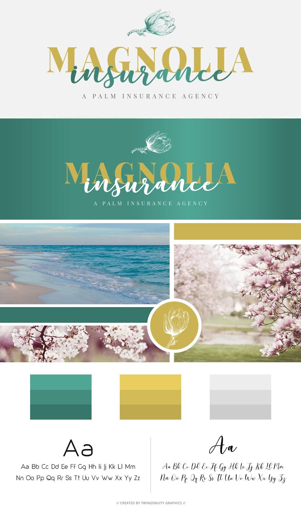 branding board magnolia insurance