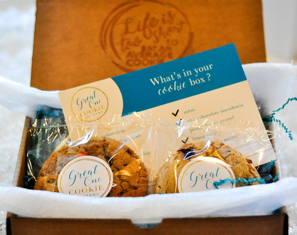 cookie subscription box design