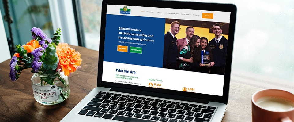 ffa foundation website design