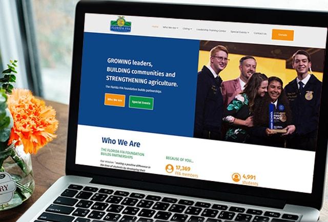 florida ffa website redesign