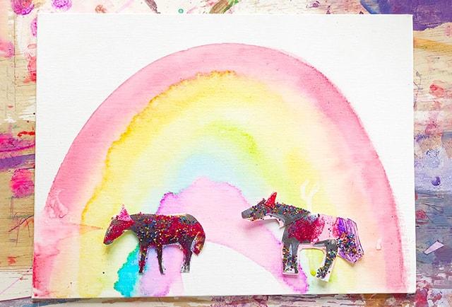 artful playhouse painting