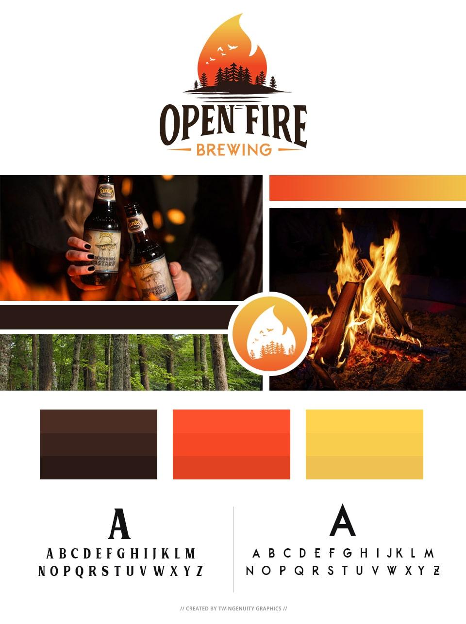 branding board open fire