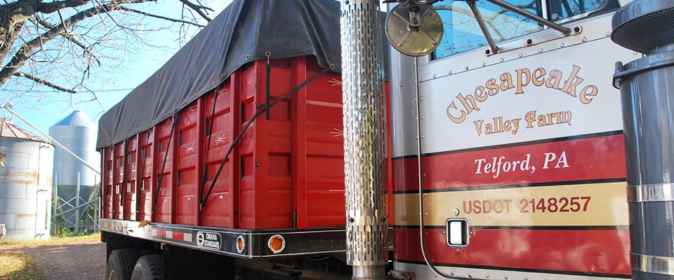 chesapeake valley farm truck