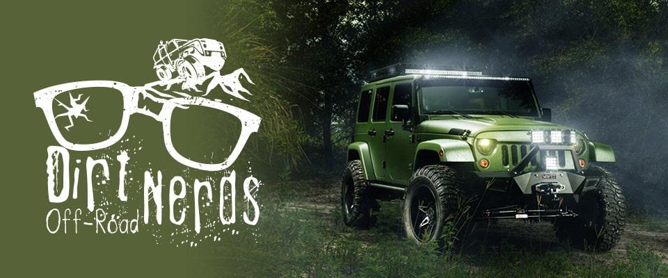 dirt nerds off road logo design