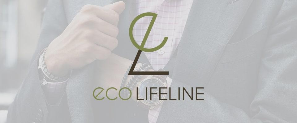 eco eco lifeline logo designlogo design