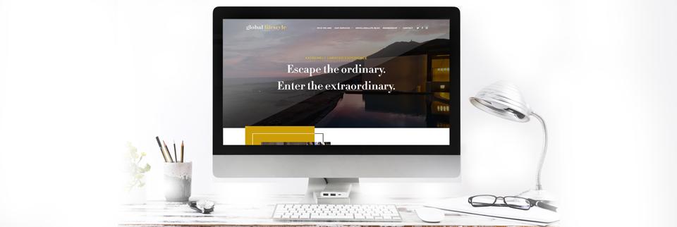 a global lifestyle feminine wordpress design