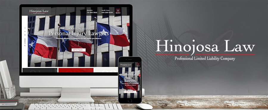 hinojosa law firm wordpress development