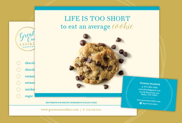 one great cookie graphic design items
