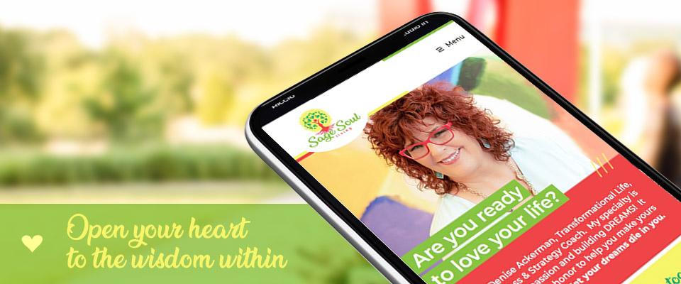 sage soul living responsive web design view