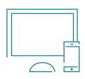 mobile and responsive website development icon