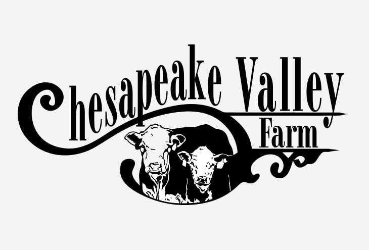 chesapeak valley farm logo - before
