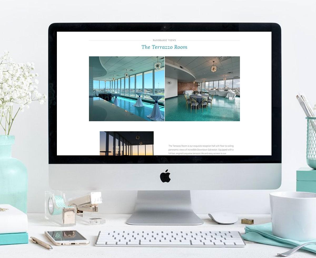event venue wordpress site