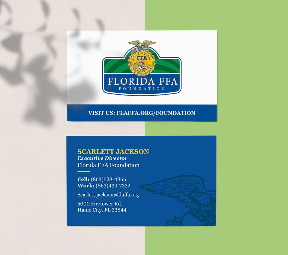 ffa business cards