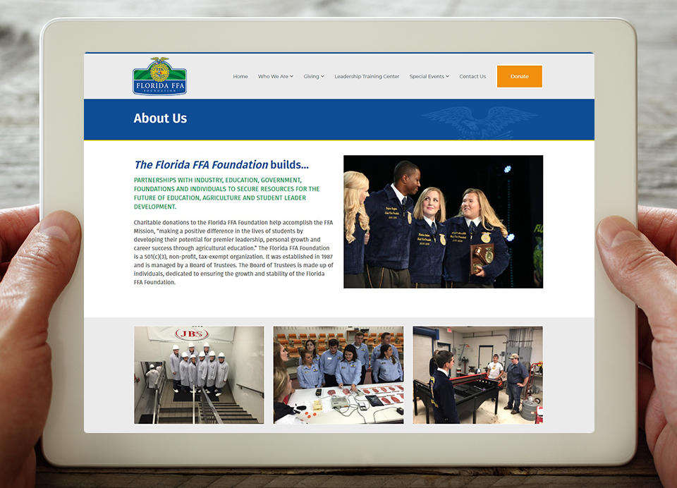 florida ffa about page website