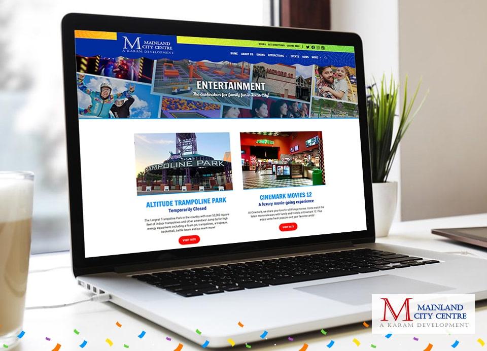 mcc entertainment web page