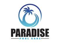 paradise pool care logo