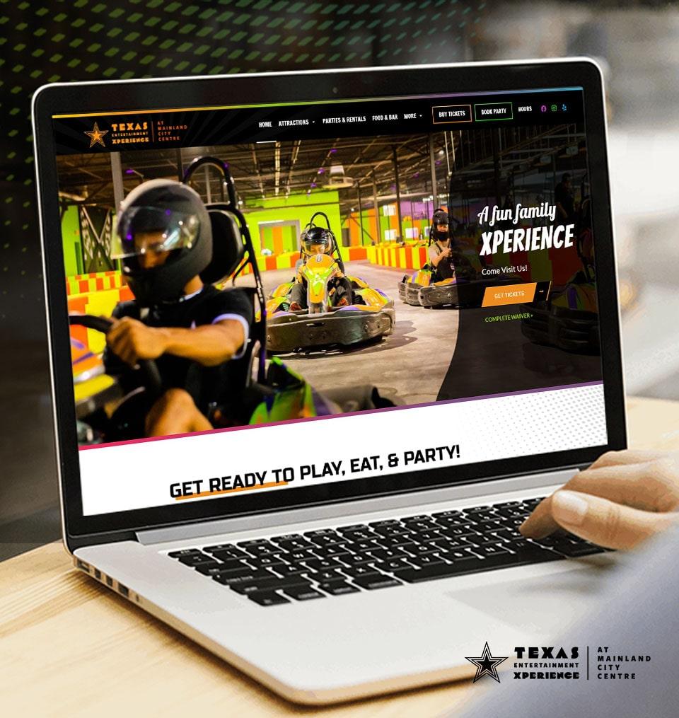 custom responsive website design